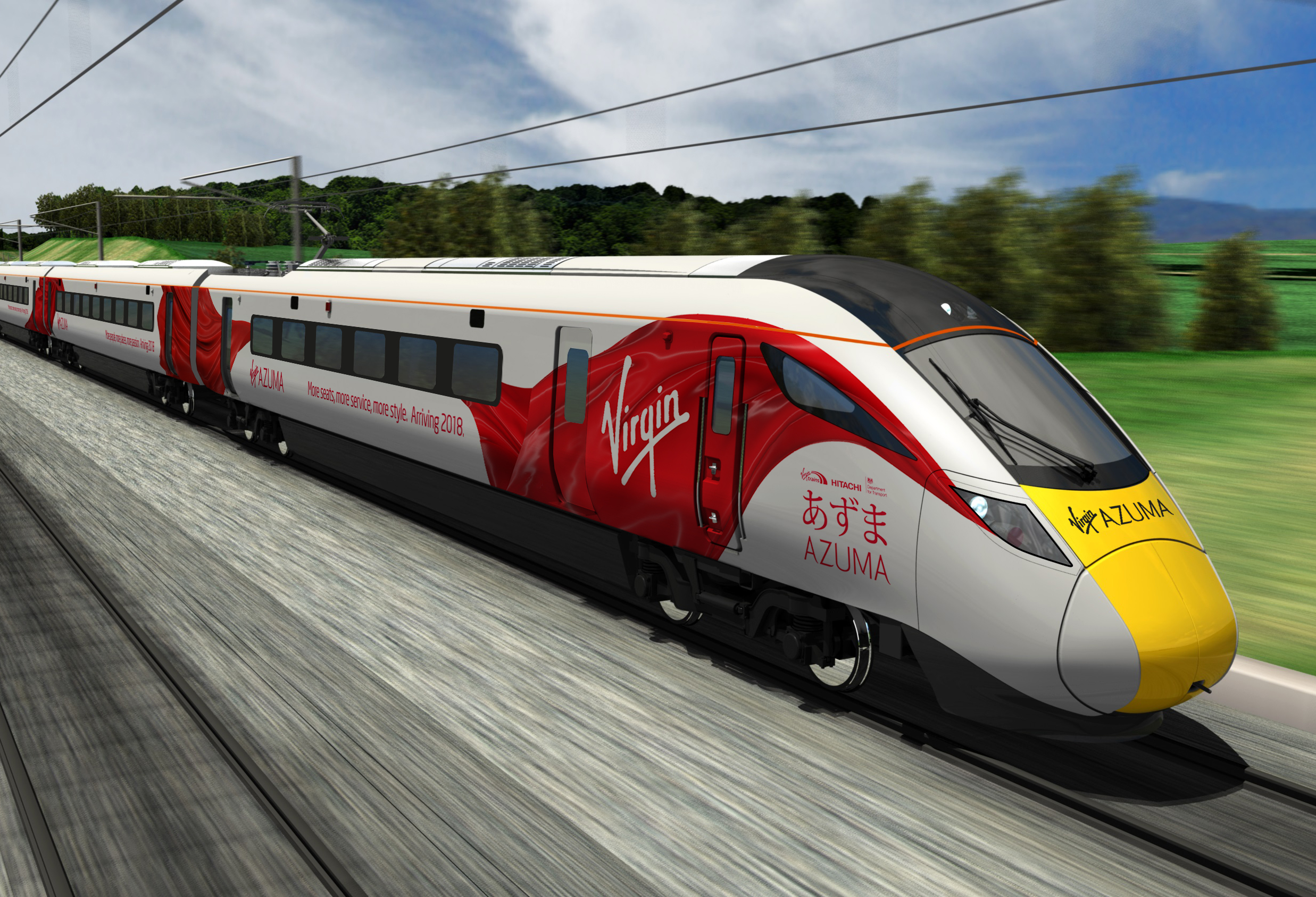 Virgin's Azuma unveiled for the East Coast