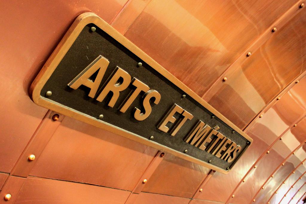 Arts et Métiers: a hidden wonder of the Paris Métro
