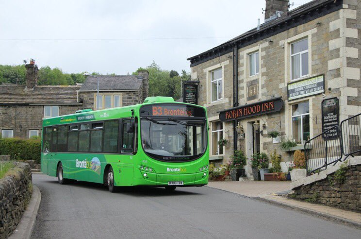 #AYearOfBuses 3: Brontebus B3 Keighley – Haworth – Hebden Bridge