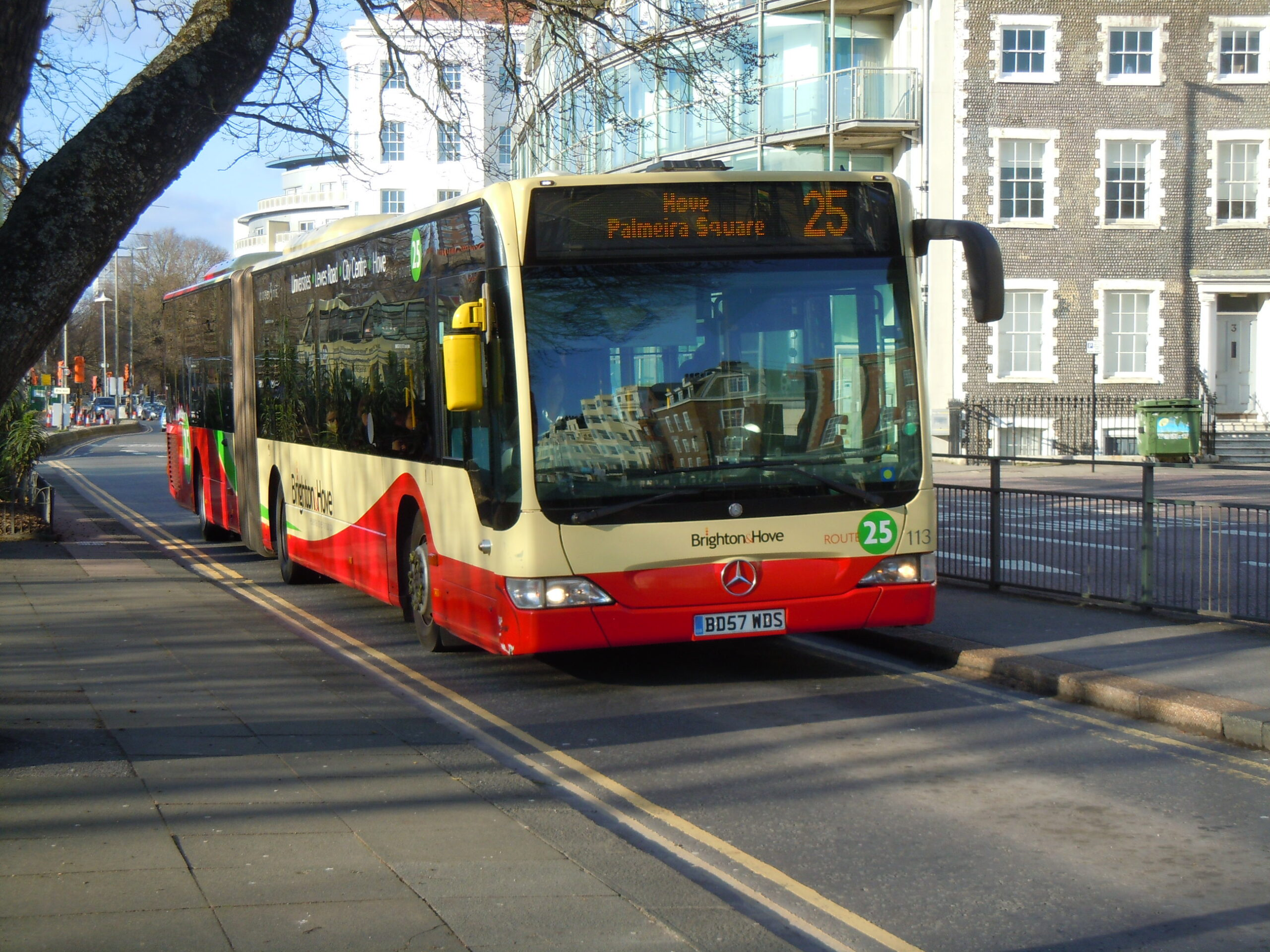 #AYearOfBuses 25: Hove – Brighton – Universities
