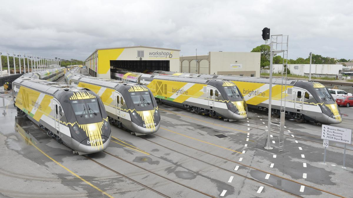 Happy first birthday, Brightline!
