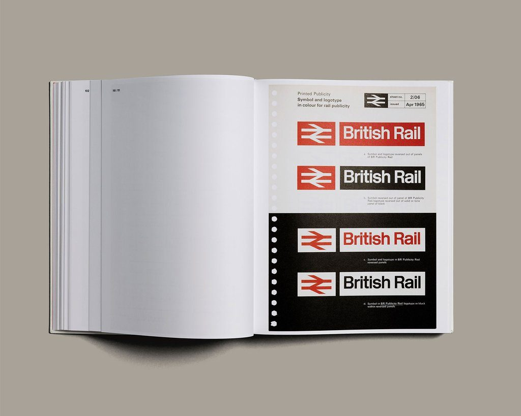 British Rail Manual inside