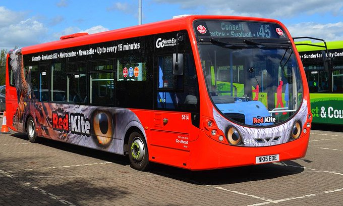 #AYearOfBuses 145: Red Kite Newcastle – Consett