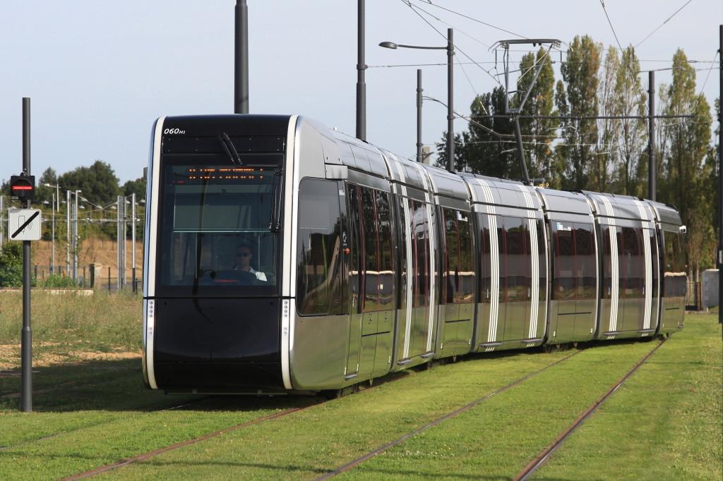 Le Tramway de Tours Alstom Citadis