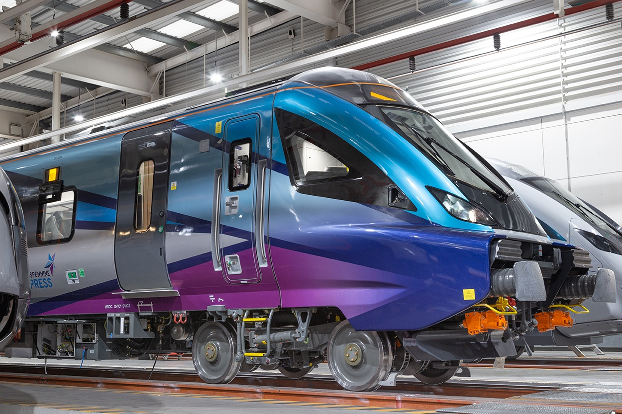 CAF unveils Civity fleet for Transpennine Express