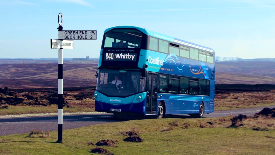 #AYearOfBuses 40: Coastliner 840 Leeds – York – Whitby