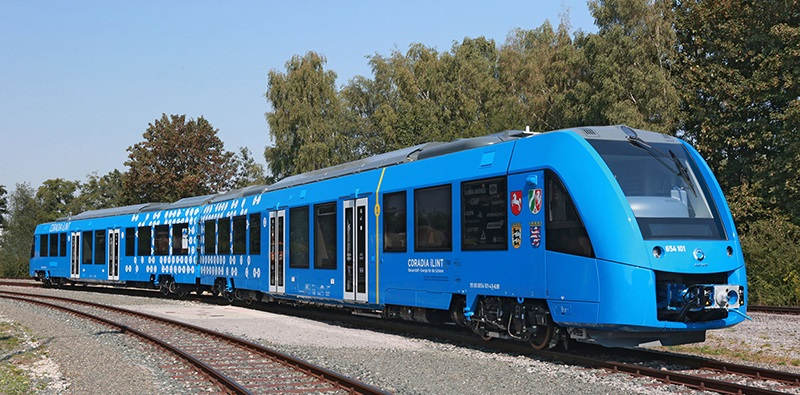 The world's first hydrogen powered train is undergoing testing in Germany