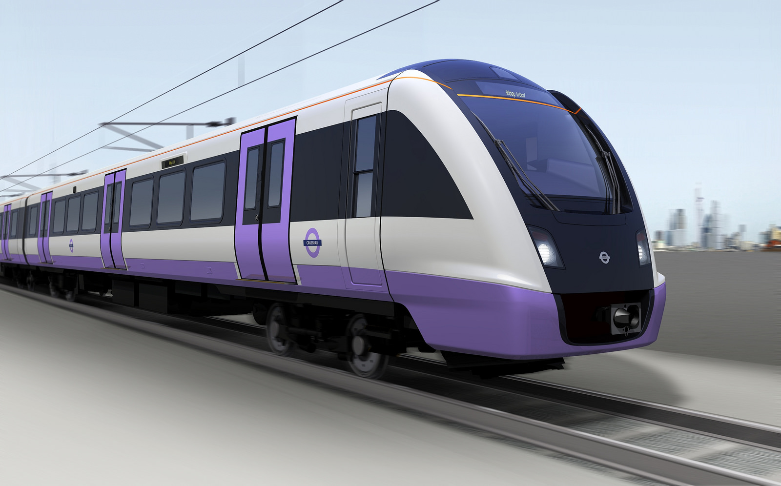 Bombardier's Crossrail train.