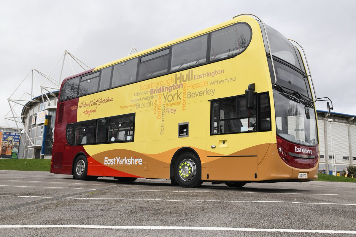 Go-Ahead unveils the new look for East Yorkshire
