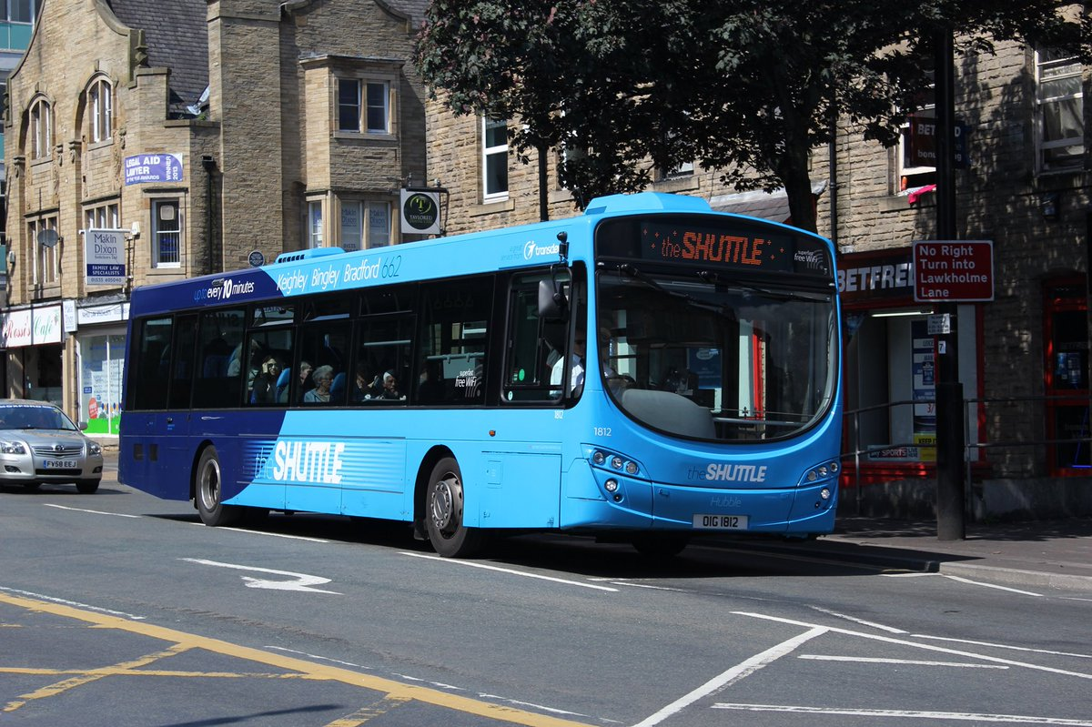 #AYearOfBuses 62: theSHUTTLE Keighley – Bradford