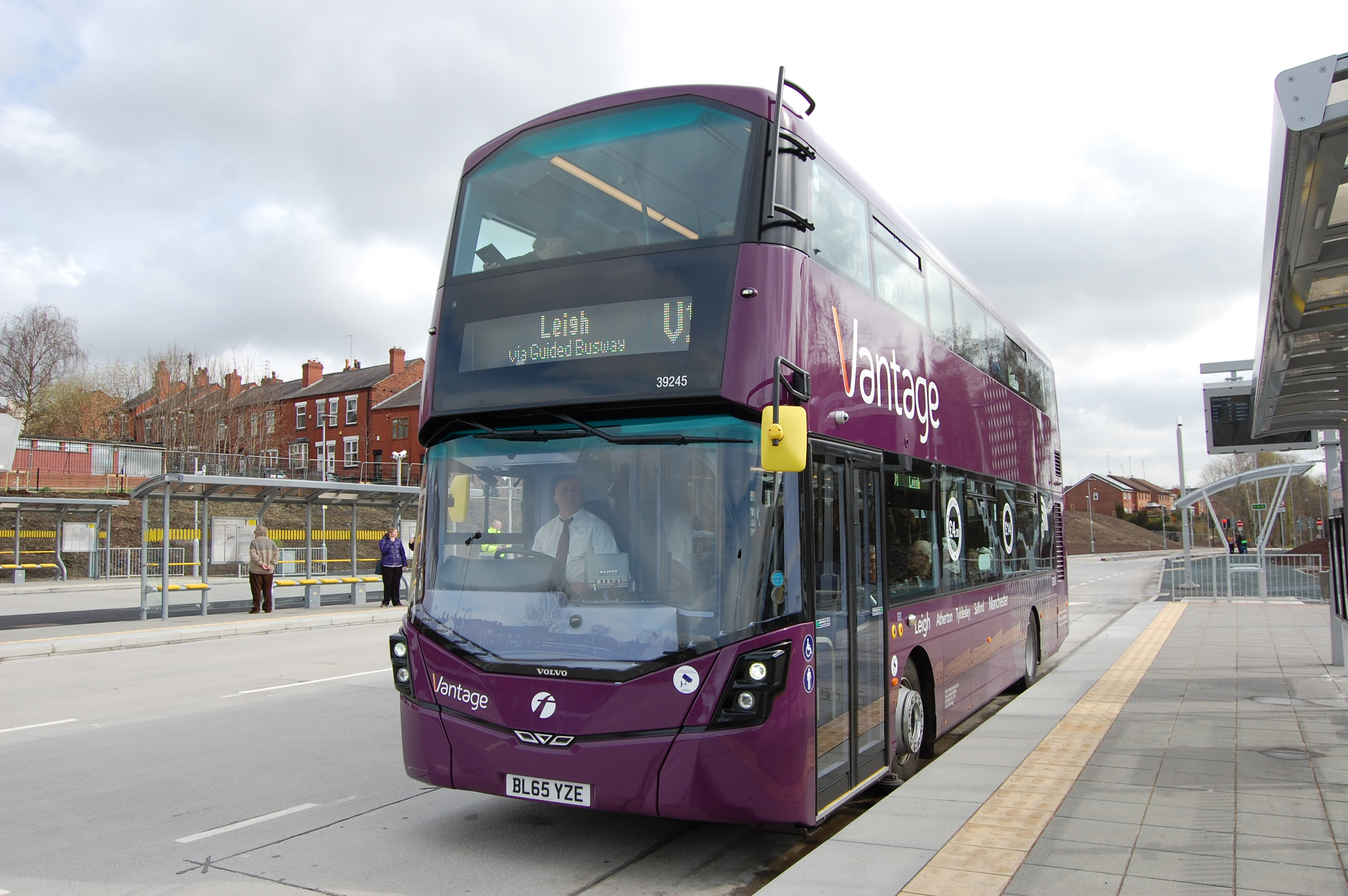 First Manchester's Vantage 39245 BL65 YZE