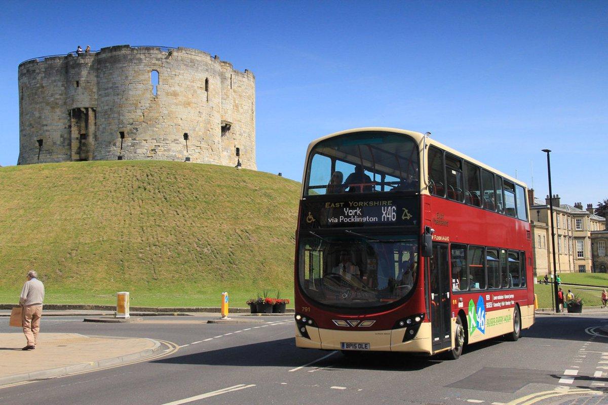 #AYearOfBuses 46: X46 Hull – Beverley – York