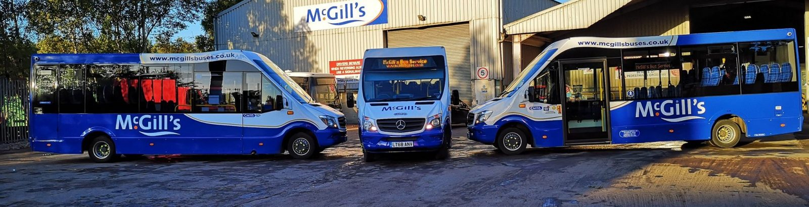 McGill's Buses launch with Passenger