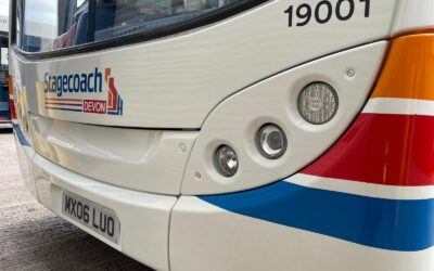 Stagecoach's Stripes ride again in the South West