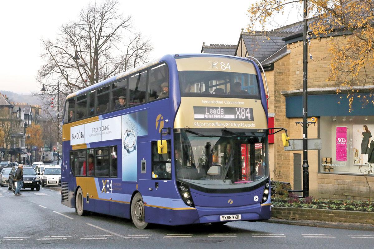 #AYearOfBuses 84: X84 Skipton – Leeds