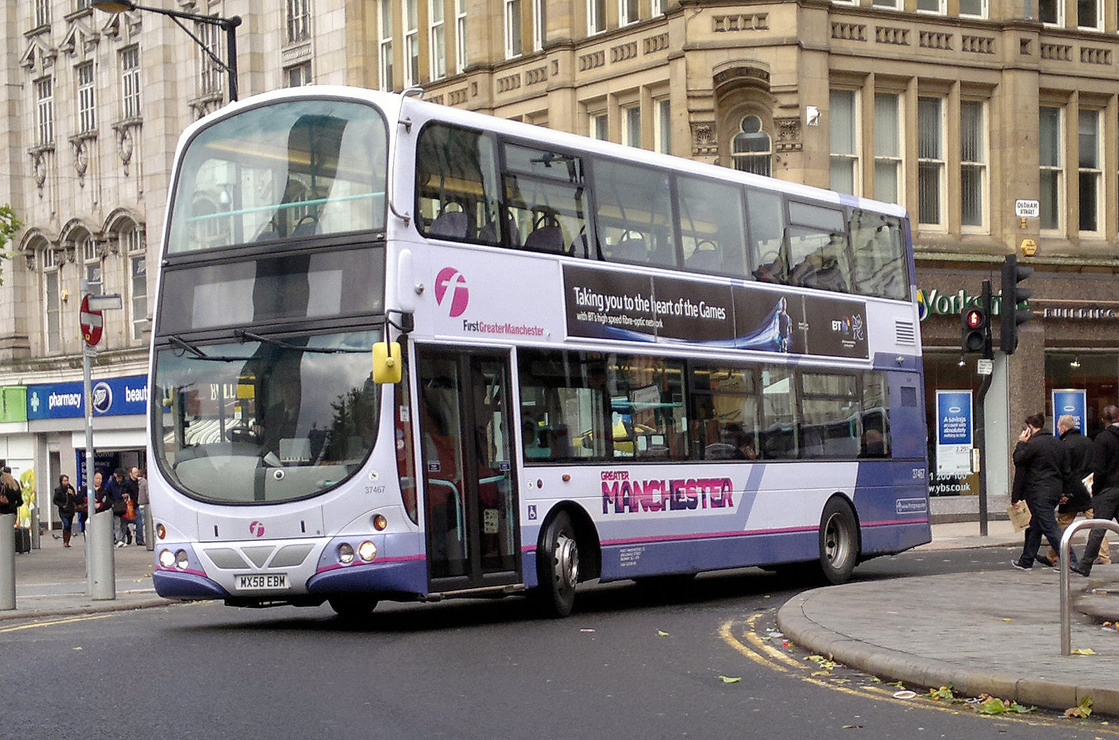 Go-Ahead buys First Manchester bus depot; soon to rebrand as Go North West