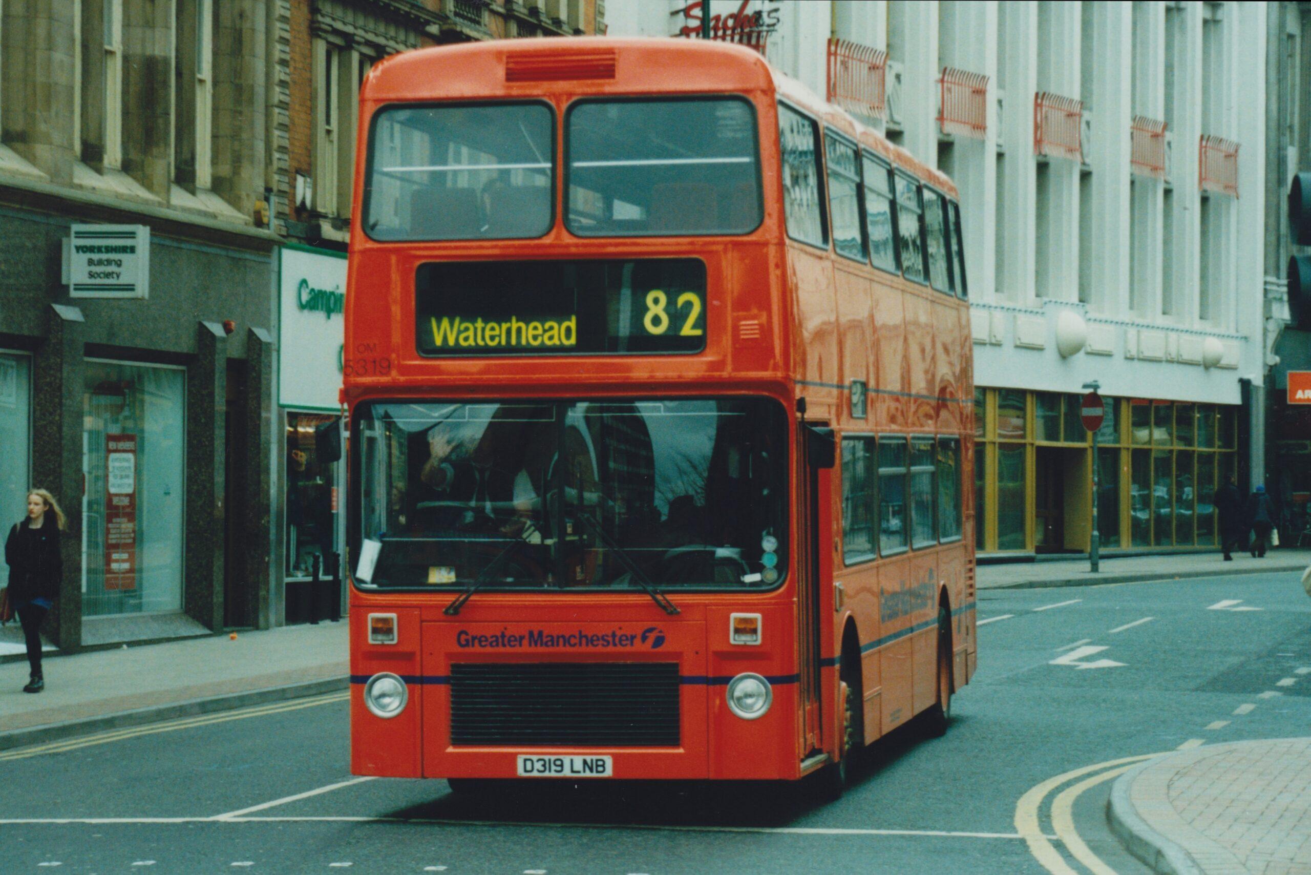 #AYearOfBuses 82: Manchester – Waterhead