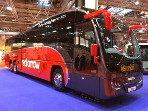 Red Arrow Plaxton Elite