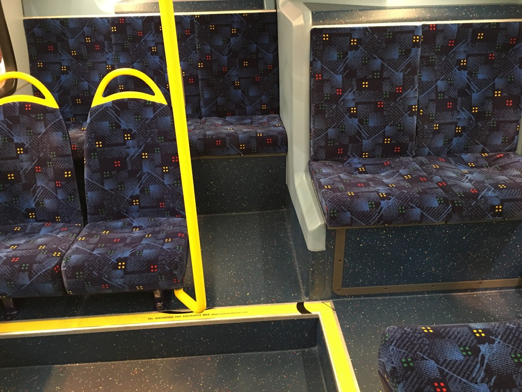 Volvo Gemini seating arrangement