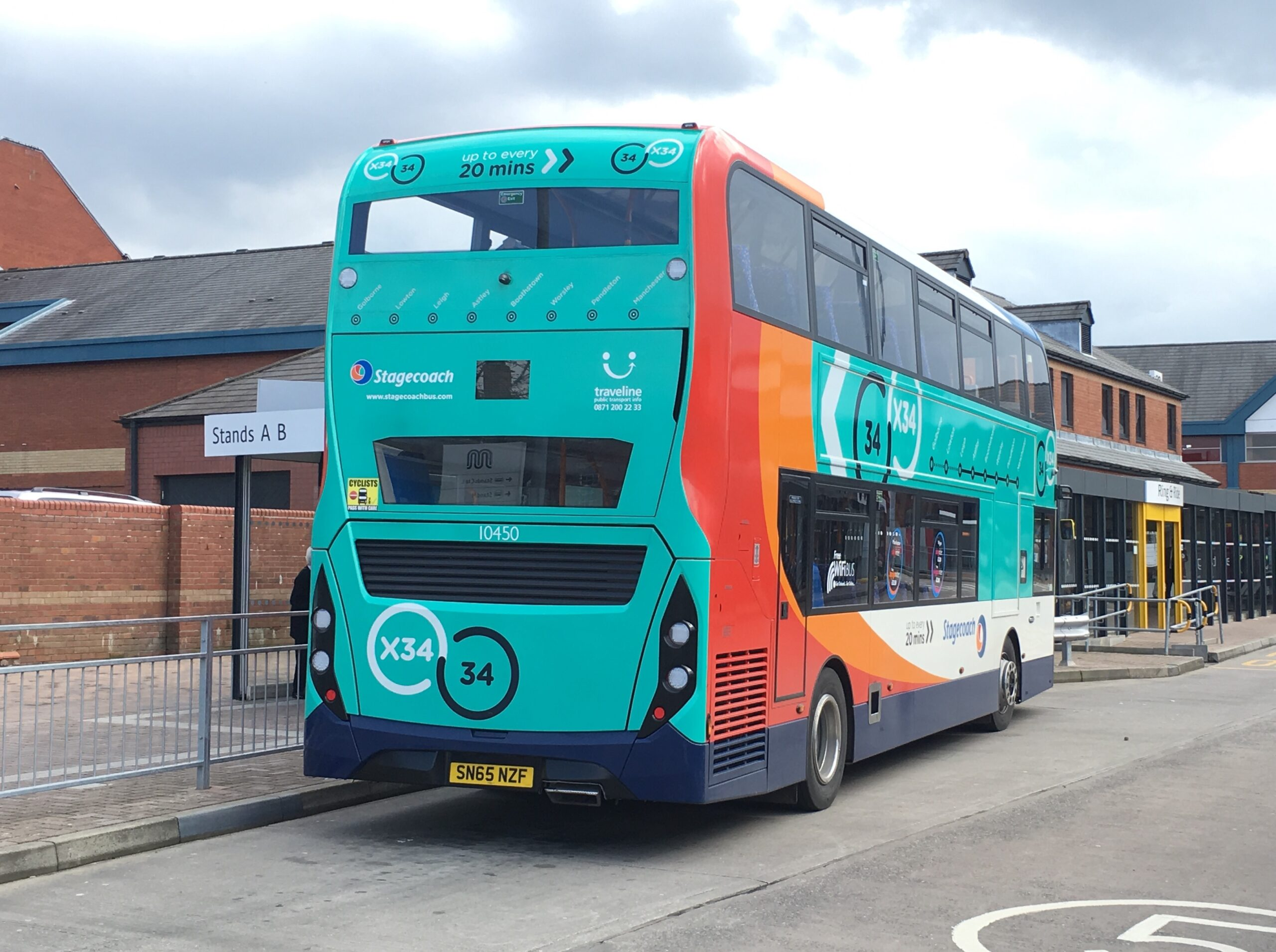 #AYearOfBuses 34: Leigh – Manchester