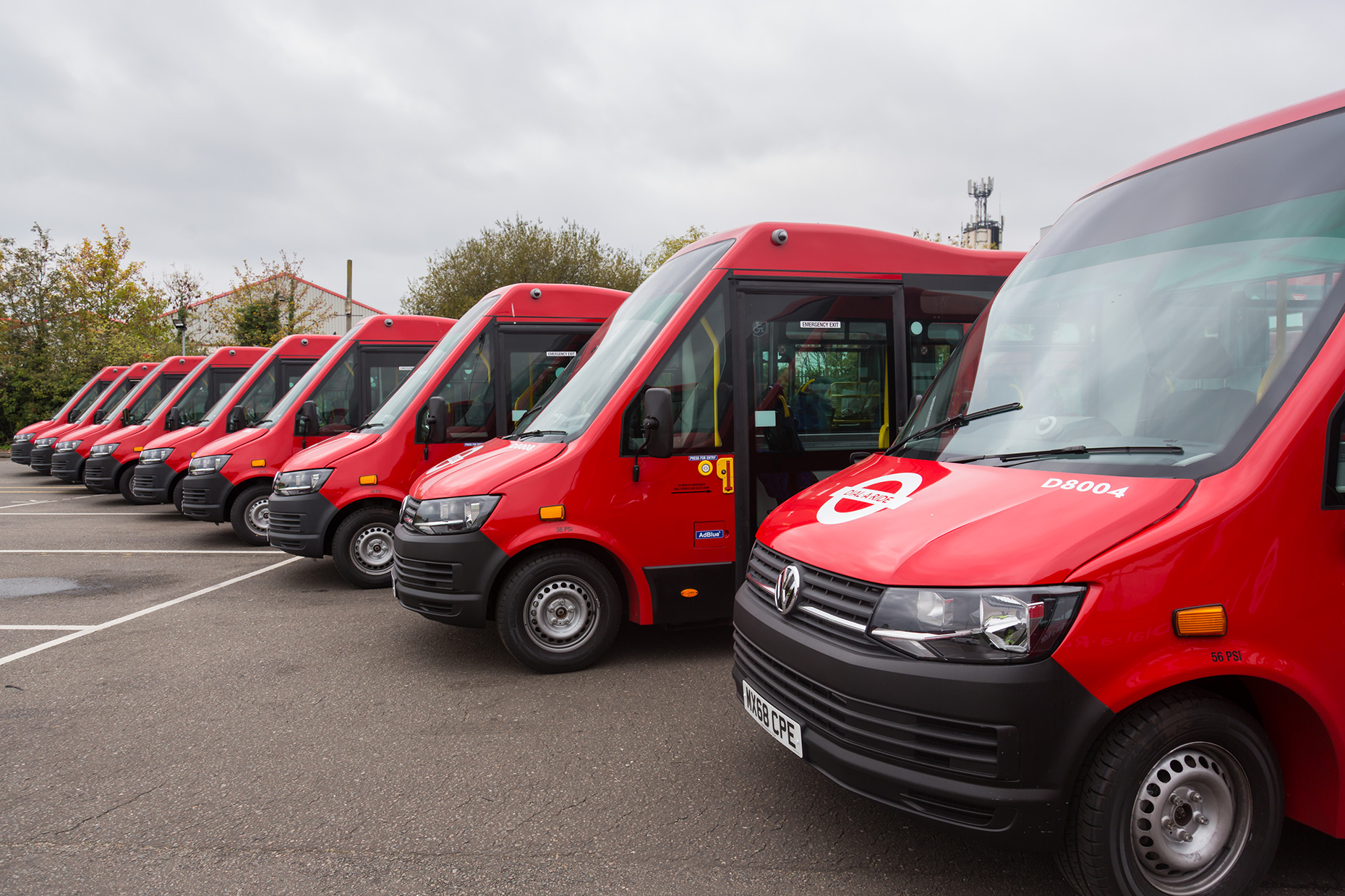 TfL orders 90 Mellor Tucana II buses for London Dial-a-Ride