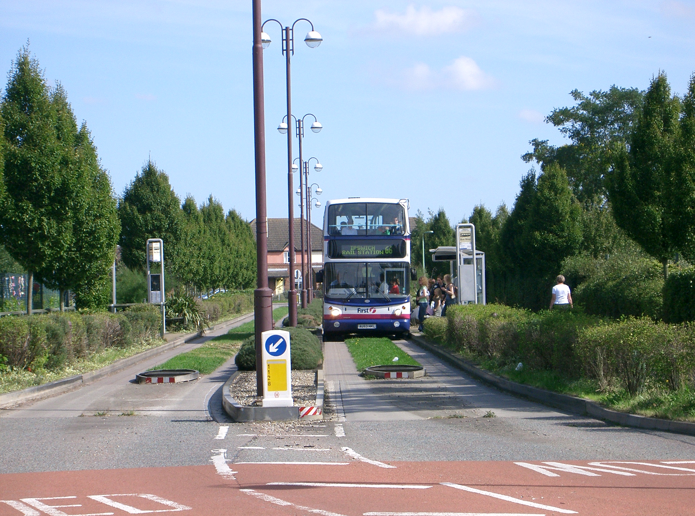 #AYearOfBuses 66: Superoute 66 Ipswich – Martlesham Heath