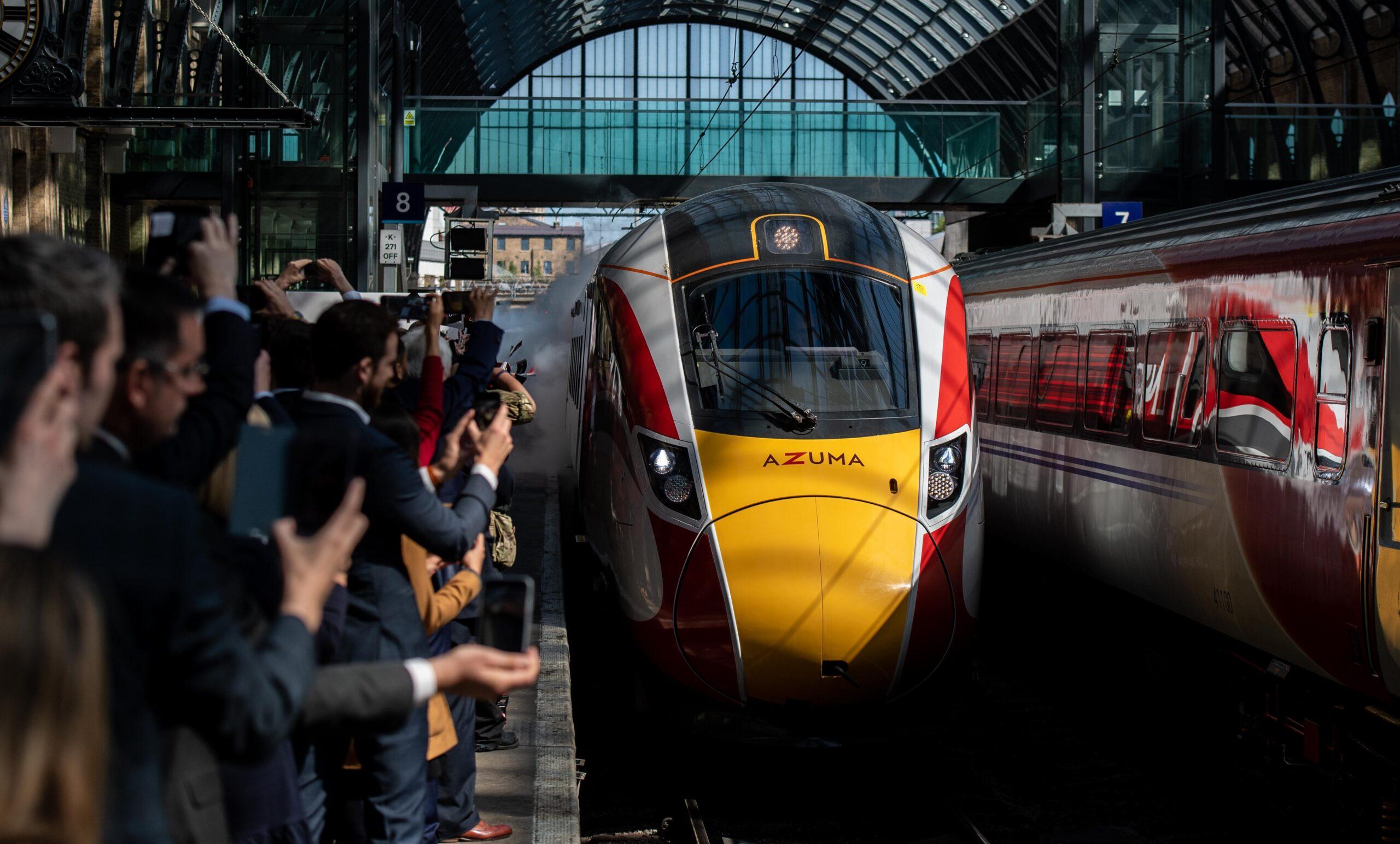 Rail revolution: Azuma launches on the East Coast