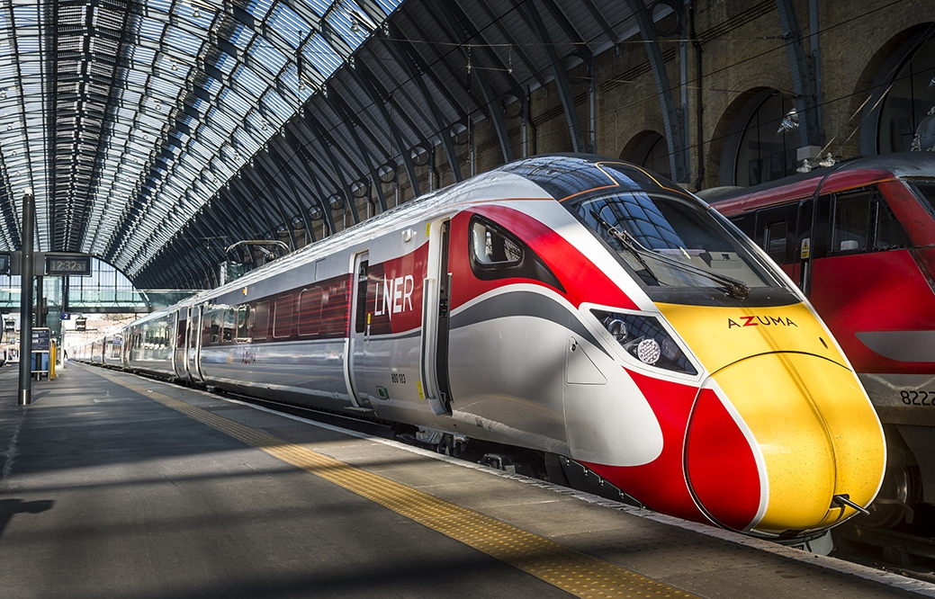 LNER has announced the date its Azuma trains will launch on the ECML