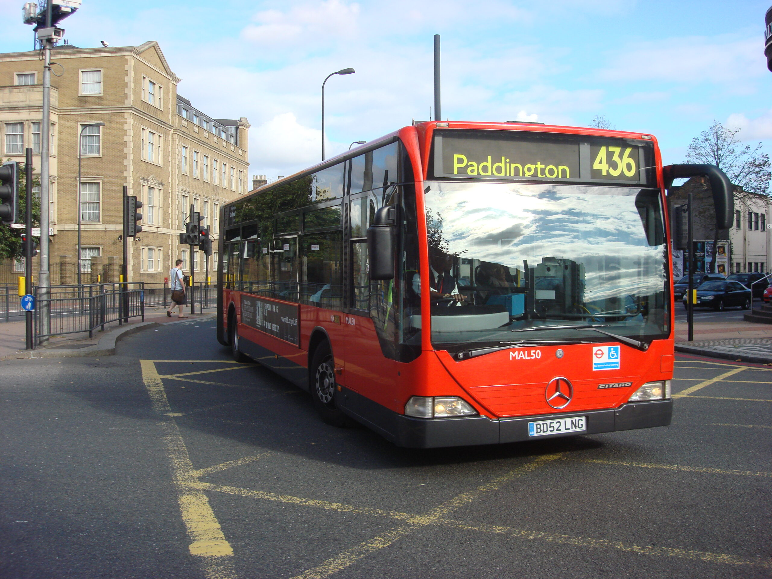 #AYearOfBuses 336: Lewisham – Battersea Park