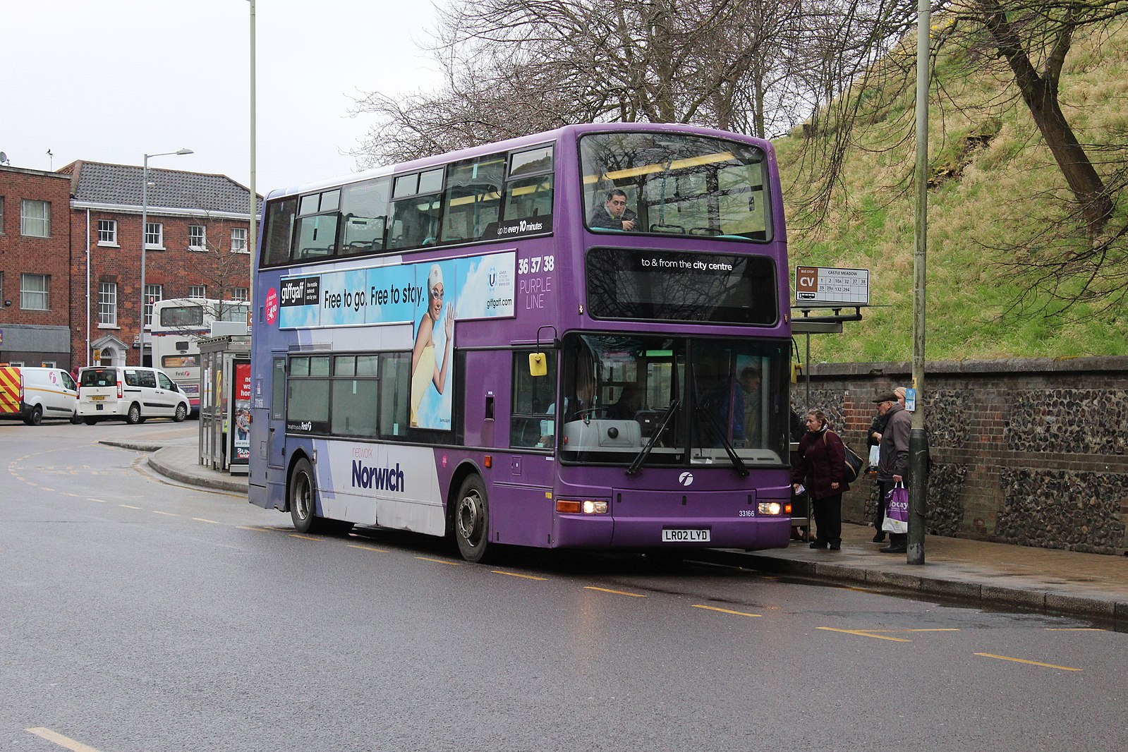 #AYearOfBuses 339: Mile Cross – Lakenham