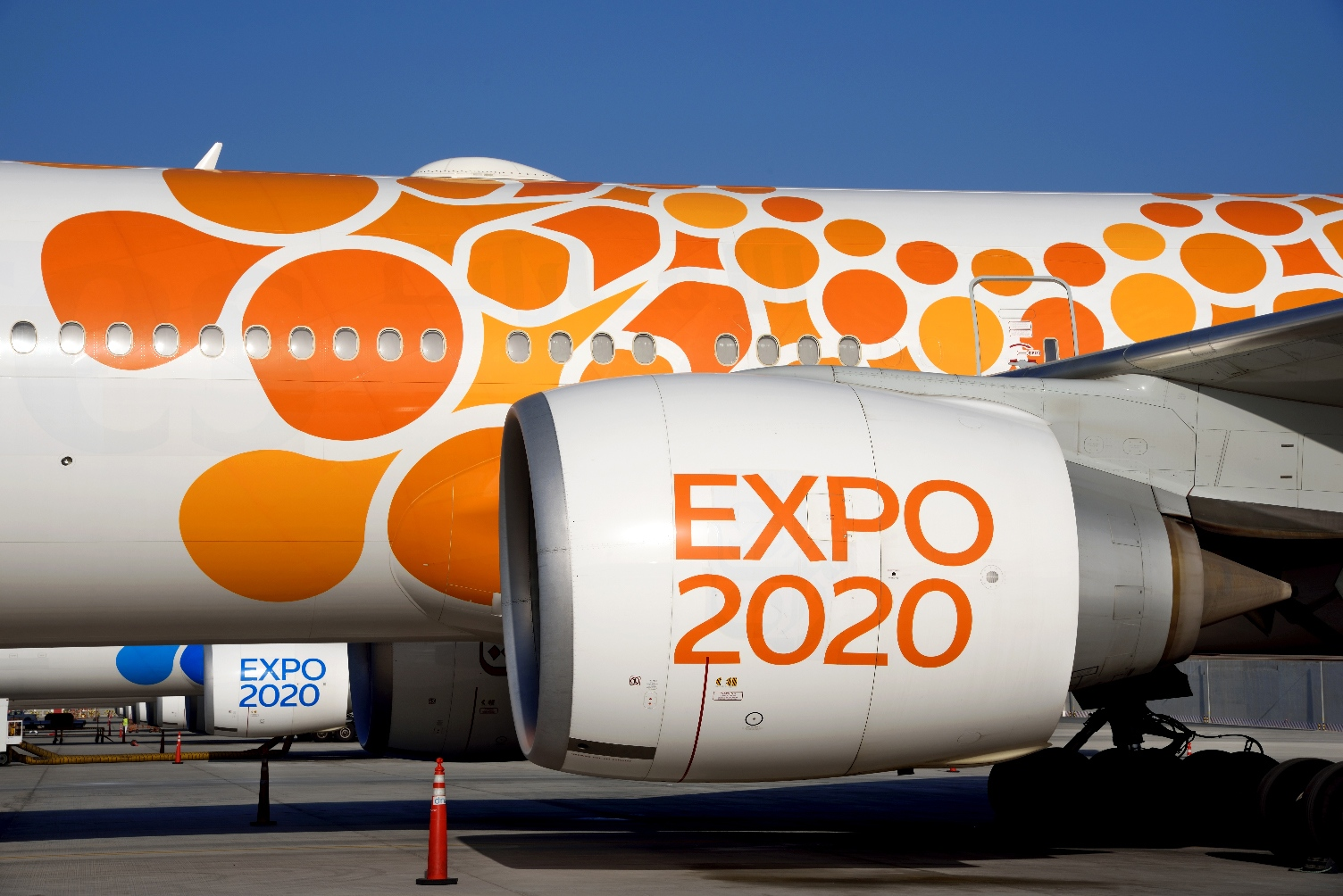Emirates Expo 2020 fleet flies high