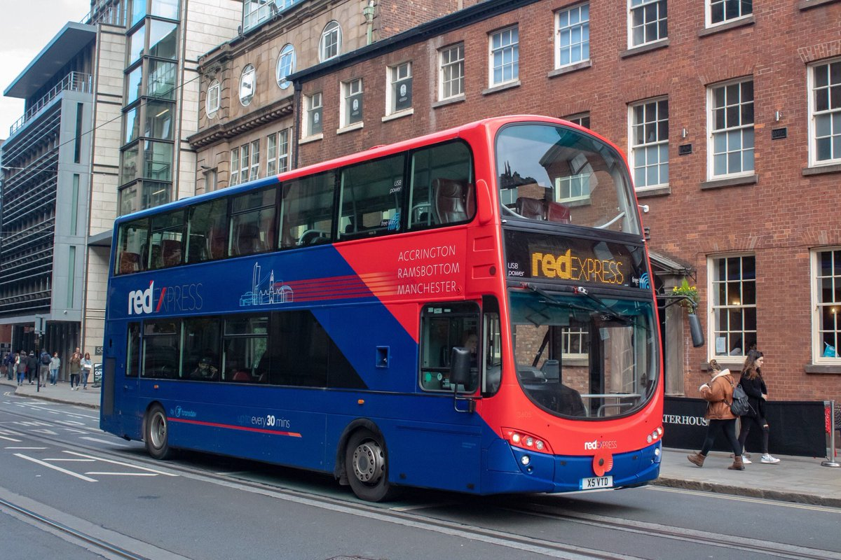 #AYearOfBuses 41: Red Express Accrington – Ramsbottom – Manchester