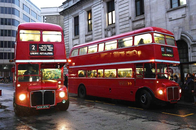 In pictures: Buses of the #TubeStrike