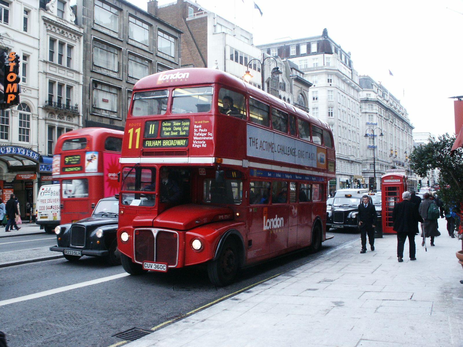 #AYearOfBuses 311: Fulham Broadway – Liverpool Street