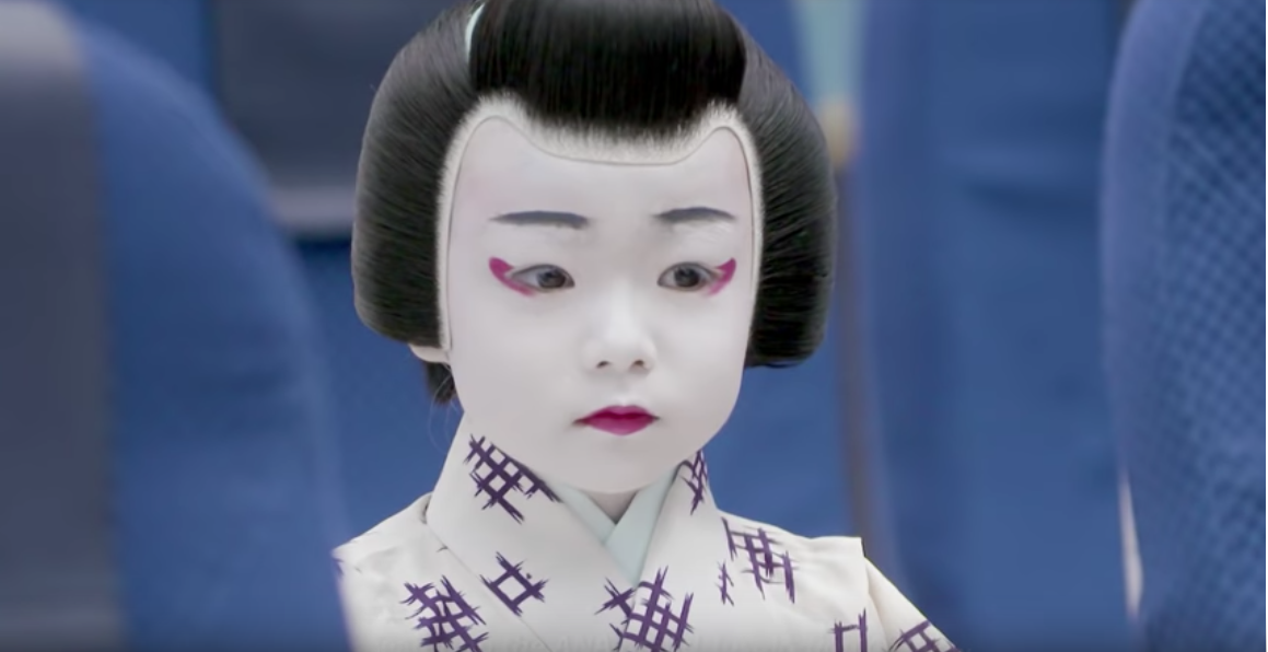 ANA adds a touch of Japanese tradition to safety videos
