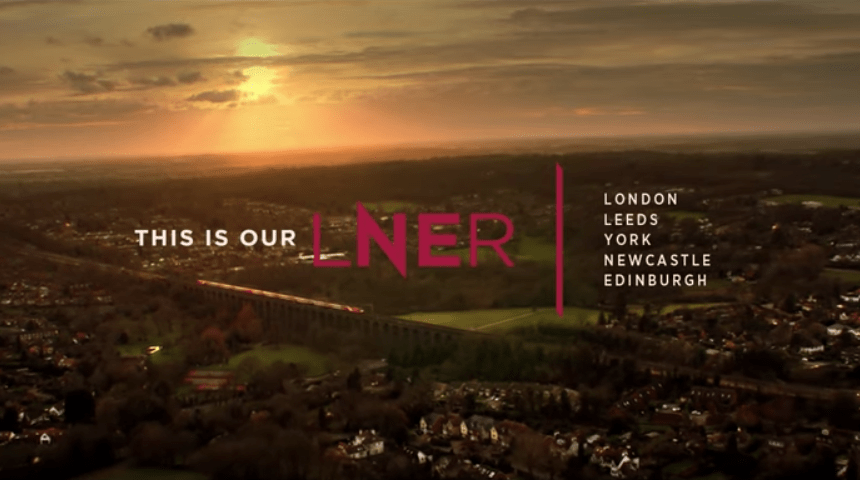 LNER partners with Anomaly on their latest ad campaign