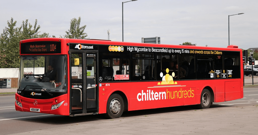#AYearOfBuses 104: Chiltern Hundreds High Wycombe – Slough