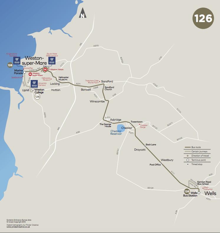 126 map