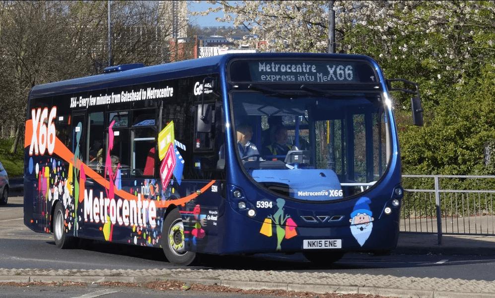#AYearOfBuses 166: X66 Metrocentre – Gateshead