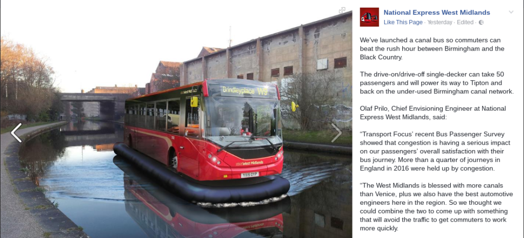 National Express Canal Bus