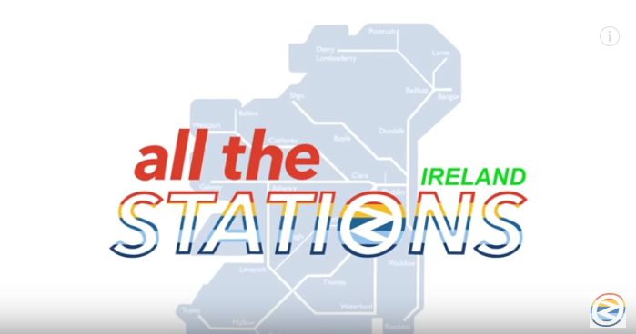 Geoff and Vicki are back – it's time for All The Stations Ireland!