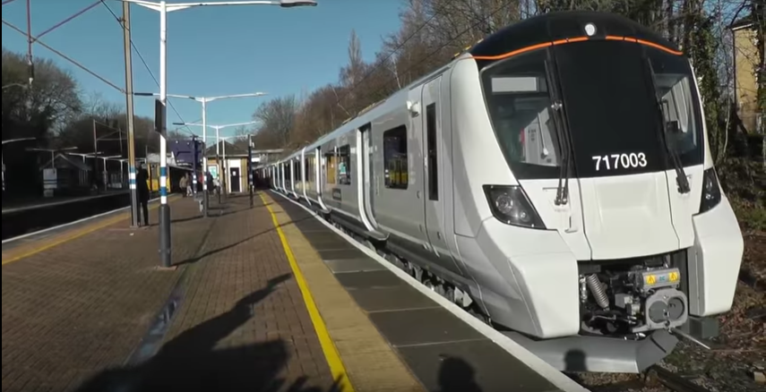 Take a ride on Great Northern's Class 717 preview train