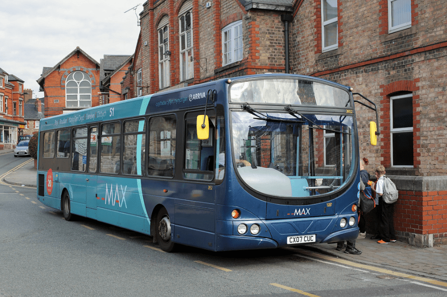 #AYearOfBuses 51: Rhyl – Denbigh & Wrexham