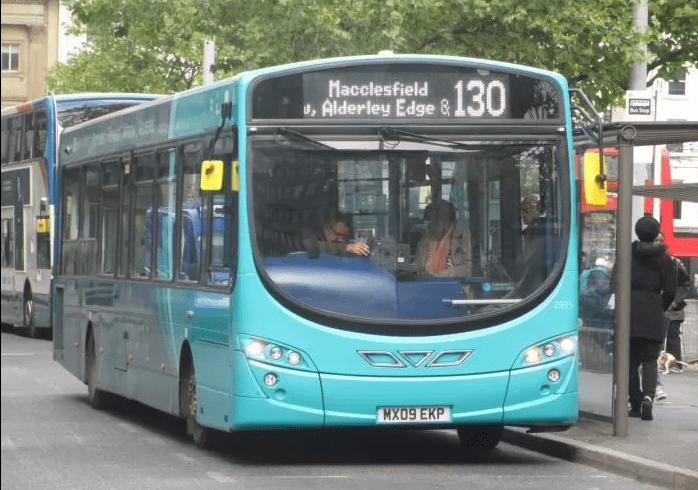 #AYearOfBuses 130: Macclesfield – Manchester