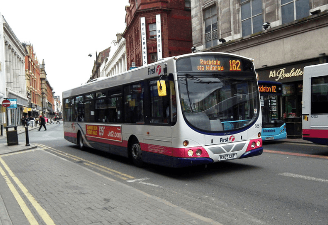 #AYearOfBuses 182: Shaw – Manchester