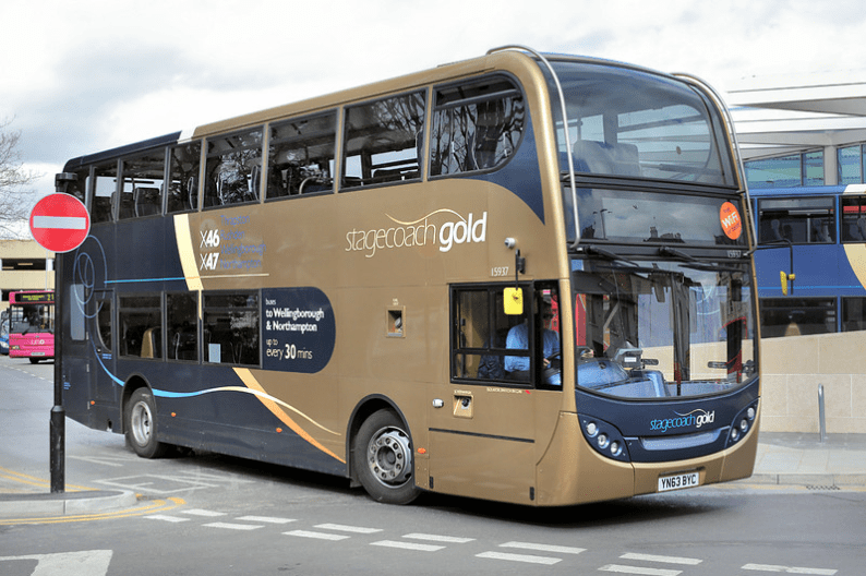 #AYearOfBuses 246: Gold X46 Northampton – Raunds
