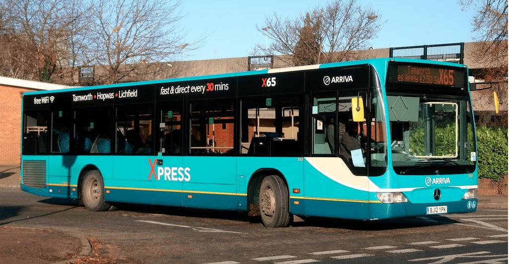#AYearOfBuses 265: X65 Lichfield – Tamworth