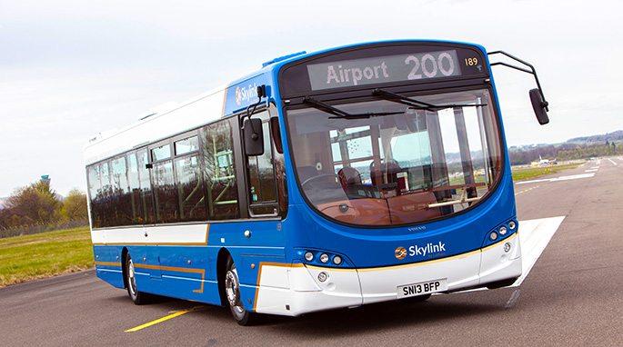 #AYearOfBuses 200: Skylink Edinburgh Airport – Ocean Terminal