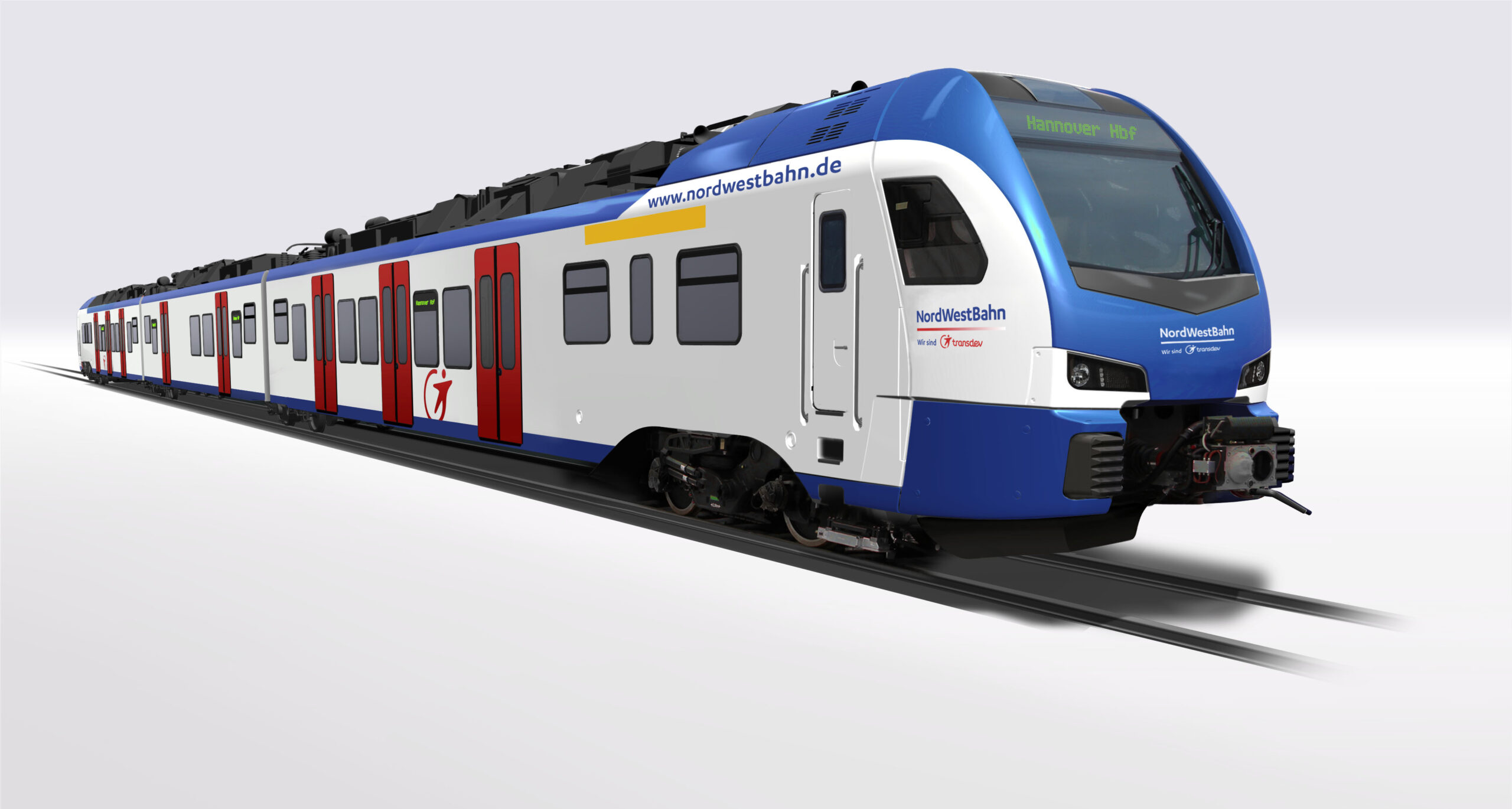 Transdev orders 64 Stadler FLIRT EMUs for newly-awarded S-Bahn contract