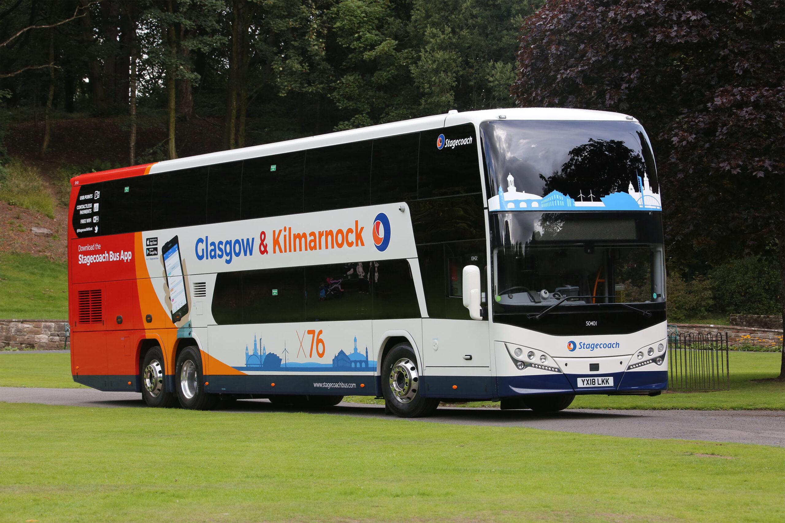 #AYearOfBuses 76: X76 Glasgow – Kilmarnock